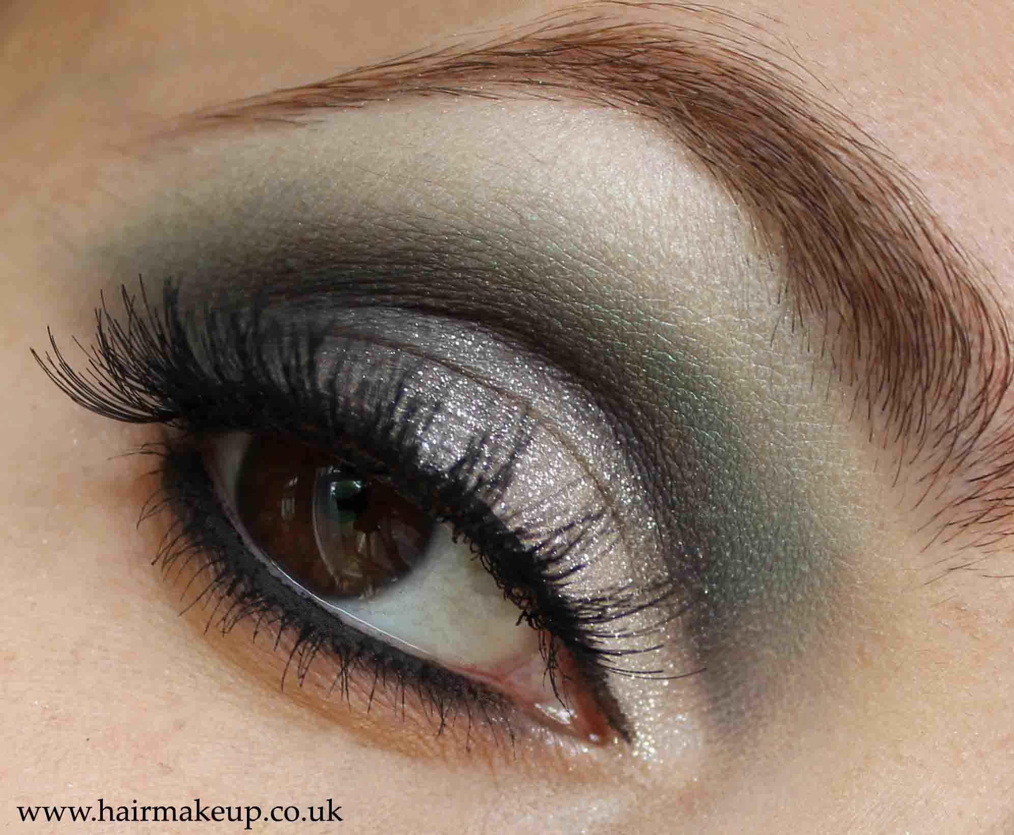 Smoky Asian Bridal Eye Makeup