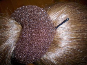 how to fix a hair donut