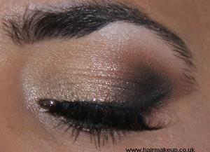 gold eye makeup