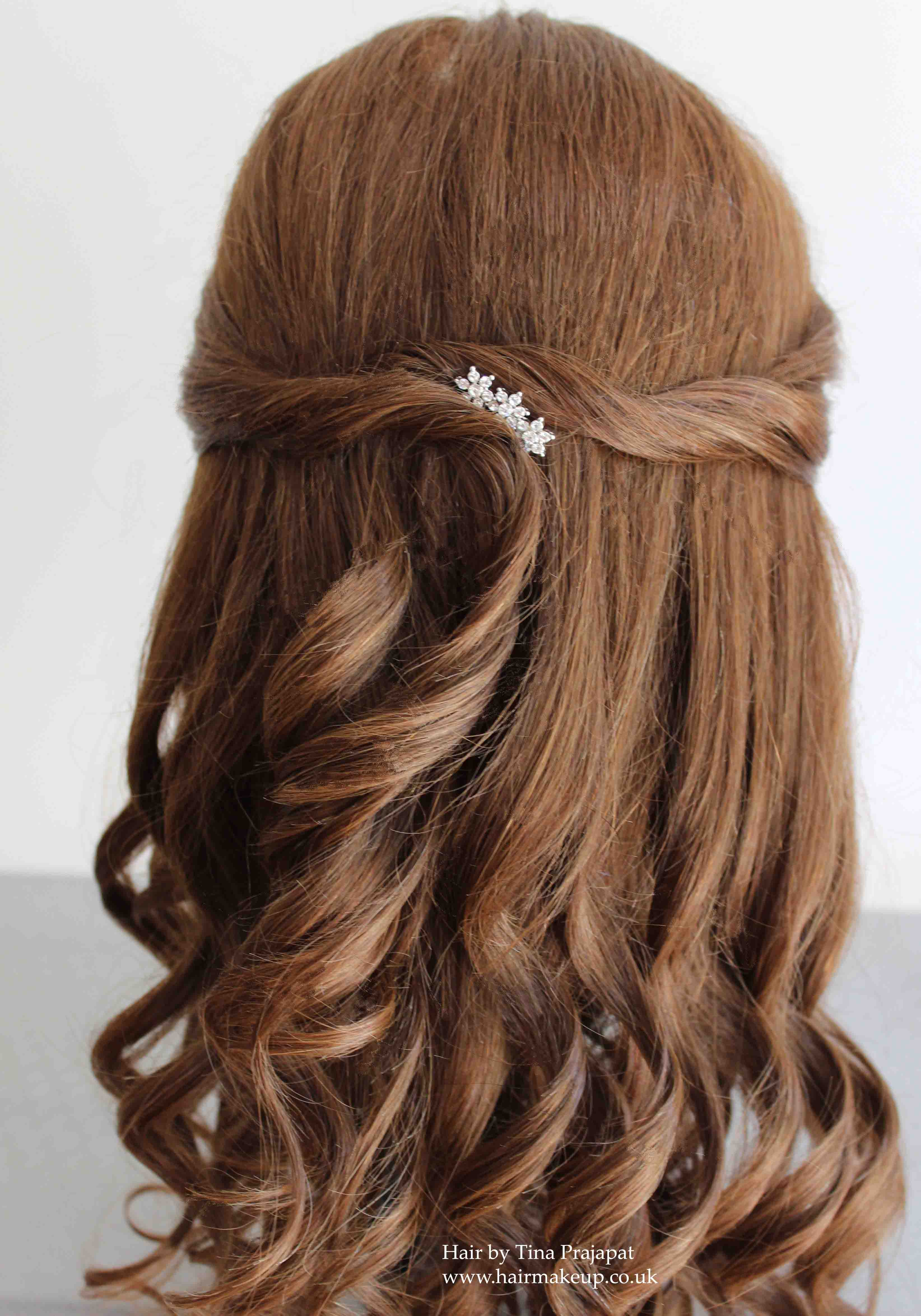 Simple Hairstyle For Occasion : Half up down hair ideas for brides and special