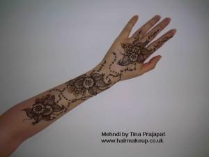 floral top hand design
