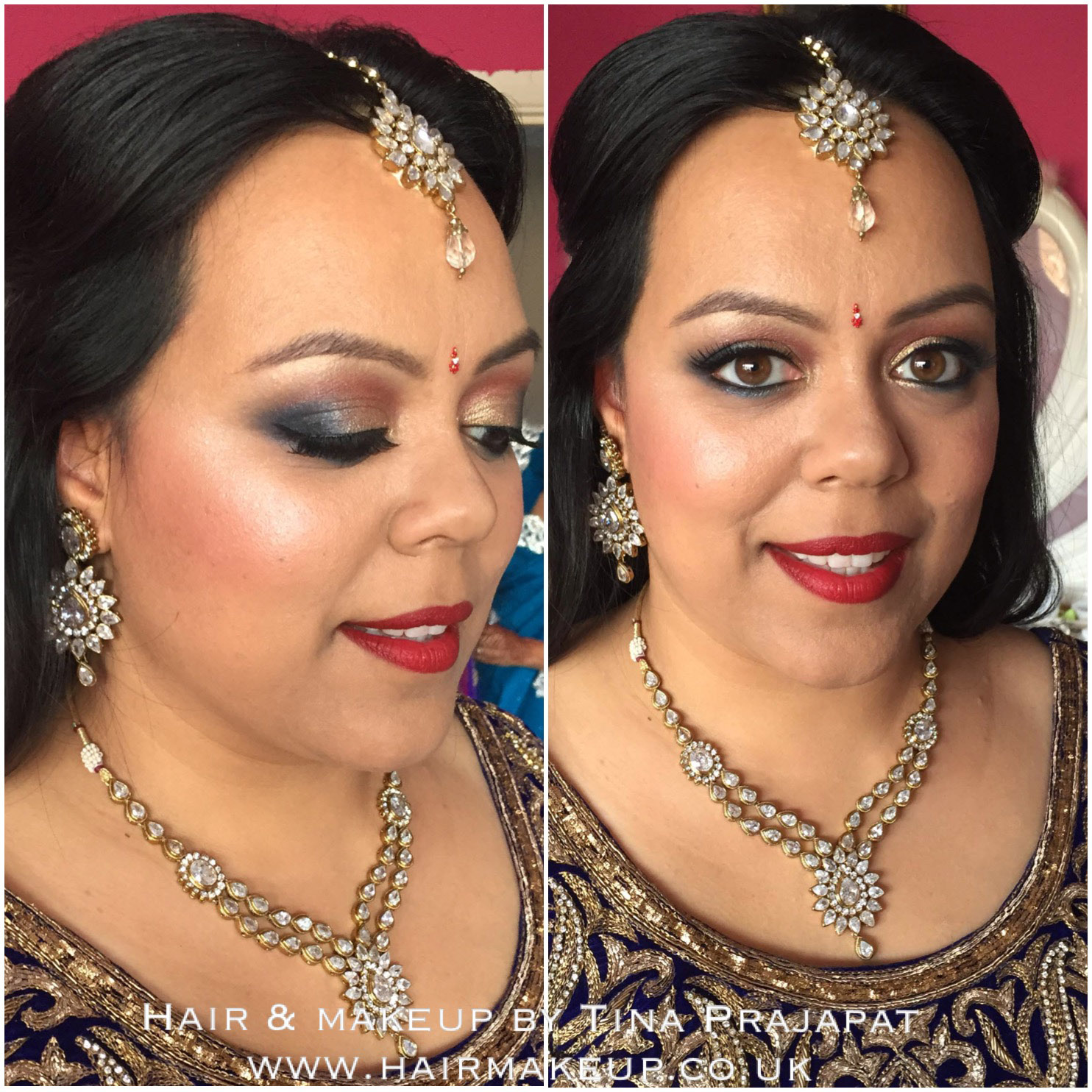 Makeup For Mehndi Night : Real brides and makeovers by tina prajapat