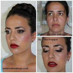 asian bridal makeover