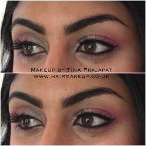 pink registry eye makeup