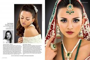Asian bridal makeup London