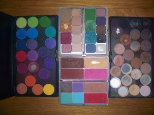 how to make your own makeup palettes