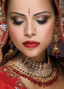 Asian bride Tina Prajapat