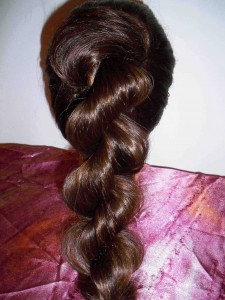 ruffled rope braid