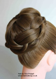 plait and bun