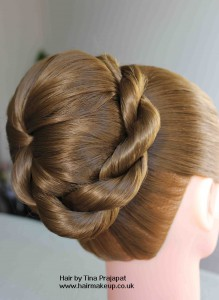 rope braid bun