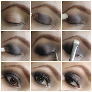 smokey eyes Collage