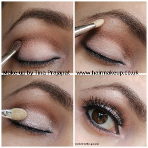 step by step makeup natural colours