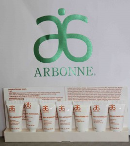Arbonne anti ageing skin care