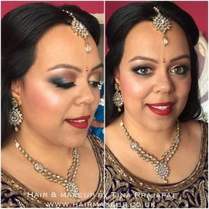 mehndi makeup