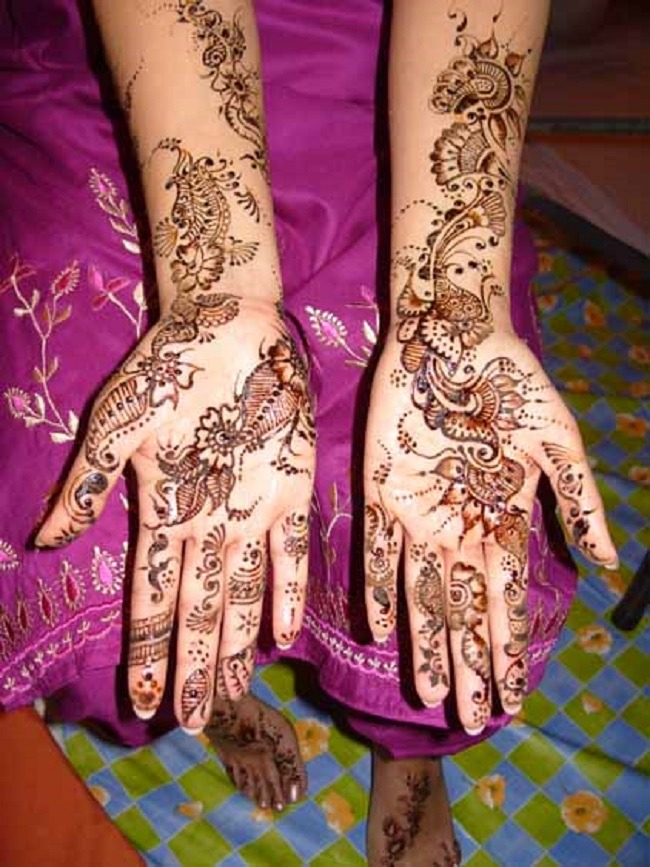 Simple Mehndi Patterns