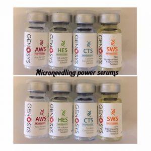 Microneedling serums